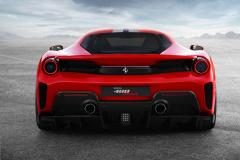 Ferrari 488 Pista 2018 Back