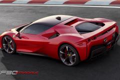 Ferrari-SF90-Stradale-Back