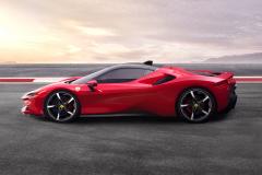 Ferrari-SF90-Stradale-Side
